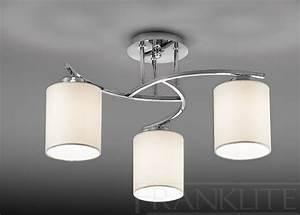 Abat Jour Plafonnier : luminaire moderne lampe plafonnier marchesurmesyeux ~ Teatrodelosmanantiales.com Idées de Décoration