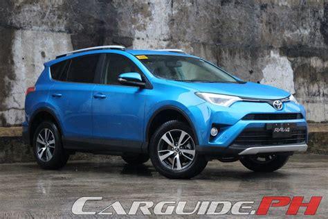 Toyota 2016 Rav4 Reviews by Review 2016 Toyota Rav4 4wd Premium Philippine Car News