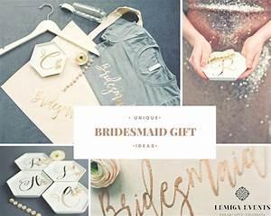 unique and fun bridesmaid gift ideas lemiga events With fun wedding gift ideas
