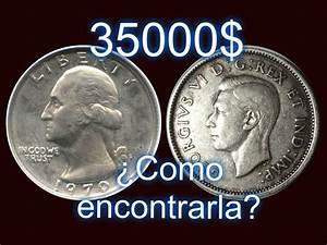 Moneda de 35,000 mil dolares 25 centavos 1970 usa como reconocerla YouTube