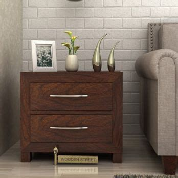 bedroom end tables wooden bedside table buy bed side table online for 10427 | front (2) 348x348
