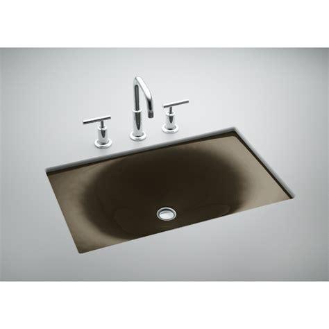 Kohler Enameled Cast Iron Sink Color Sles by Shop Kohler Iron Tones Black N Cast Iron Drop In