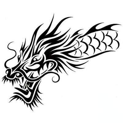 tribal japanese dragon tattoo design tattoowoocom