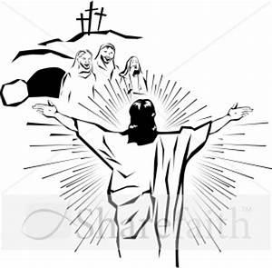 Resurrection Of Jesus Clipart