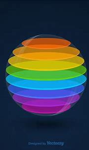 Vector 3D Colourful Sphere - Download Free Vector Art ...