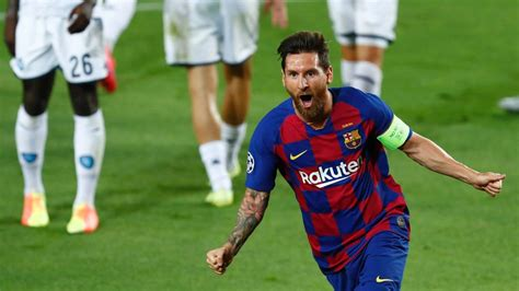 Was there ever any doubt that messi would make the team? Champions League: Lionel Messi and Robert Lewandowski fire ...