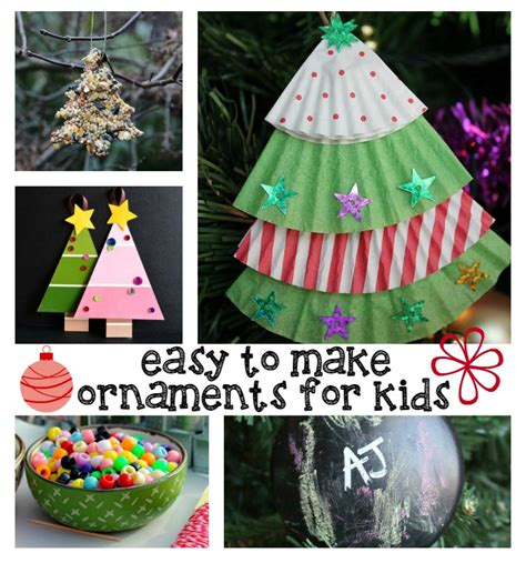 easy   christmas decorations  kids