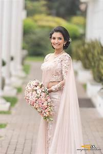 sri lankan bride sri lankan weddings pinterest saree With sari wedding dress