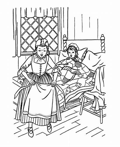 Early Coloring Pages American Children Usa America