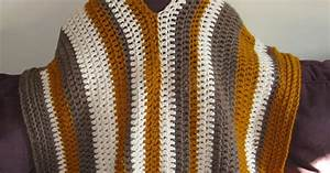Crochet Poncho Instructions