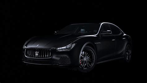 2018 Maserati Ghibli Nerissimo Black Edition 4k Wallpaper