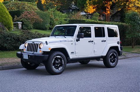 2014 Jeep Wrangler Unlimited Polar Edition Road Test
