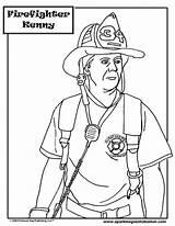 Coloring Fire Station Fireman Fighter Feuerwehr Popular Ausmalbilder Printable sketch template