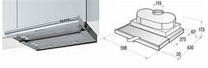 Montage Hotte Tiroir : astuce r alisable hotte dans plan de travail pas cher ~ Premium-room.com Idées de Décoration