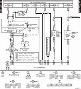 Subaru Crosstrek Service Manual - Interior Light System Wiring Diagram