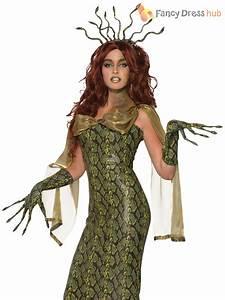 Ladies Medusa Costume Deluxe Adults Greek Myth Goddess