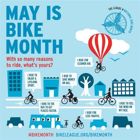 county celebrates national bike month designates  road