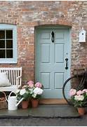 Front Door Paint Colors For Brick Homes by Curb Appeal Cottage Style Front Doors Apartment Therapy