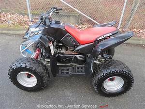 2004 Polaris Predator 90 Youth Atv Quad 2 Stroke 89cc Gas