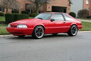 """1990 MUSTANG LX, 347 W/ 5 SP, VORTEC BLW, 509HP AT TIRE, 18"""" WHEEL, 3:73, SHARP! - Classic Ford ..."""