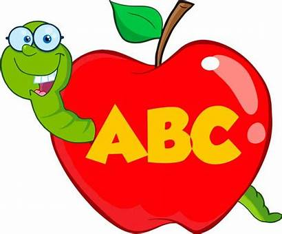 Manzana Apple Gusano Abc Worm Dibujo Ver