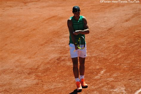 Rafael Nadal After His Opening Round Win At French Open ...