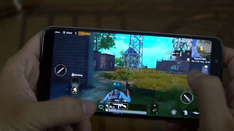 test game pubg mobile  asus zenfone max pro  youtube