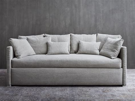 Letto Divano Flou : Biss Sofa Bed By Flou Design Pinuccio Borgonovo