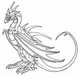 Wyvern Worm Scatha Deviantart Lexicon Potter Harry sketch template