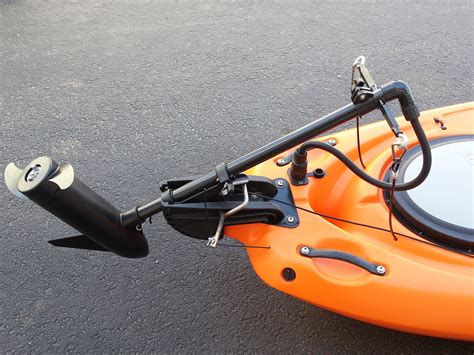 Kayak Electric Motor by Fishing Kayak With Motor The Best Choice For A Fisherman