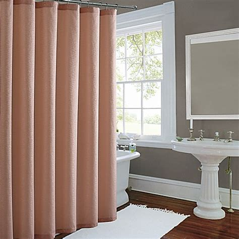 metallic luster shower curtain bed bath