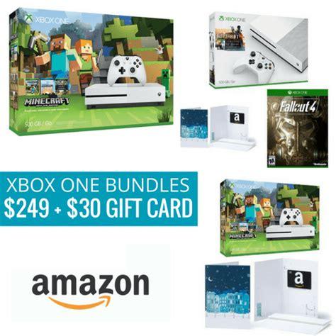 xbox one s 500 gb bundles 249 30 gift card