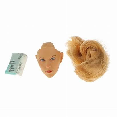 Head Scale Female Phicen Sculpt Kumik Headsculpt