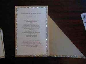 100 count semi diy format and print wedding invitations With black and white bling wedding invitations