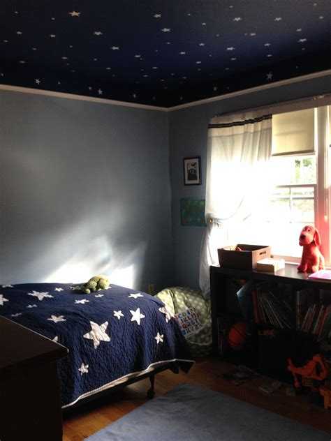 Space Bedroom Ideas by 4 Year Space Room I The Walls And Ceiling