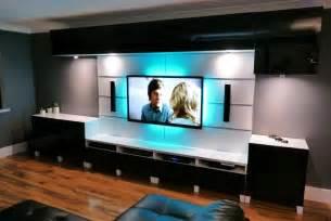 designer wohnwand modern ikea besta livingroom and kitchen