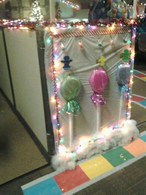 loved decorating  christmas  work candyland
