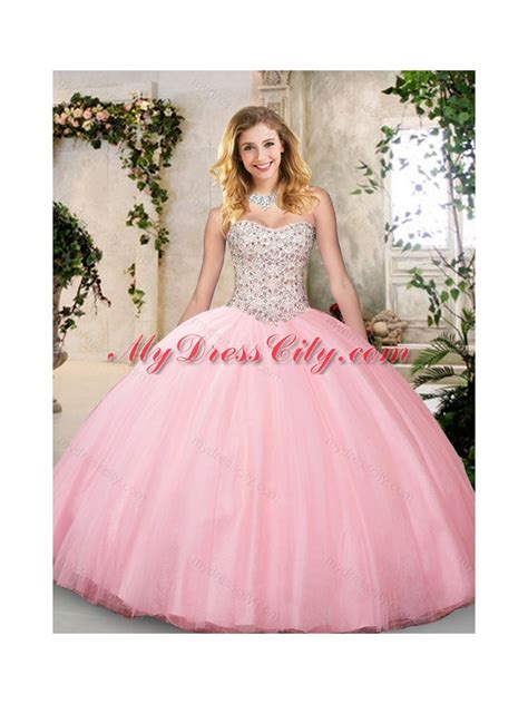 Quinceanera Dress with Beading