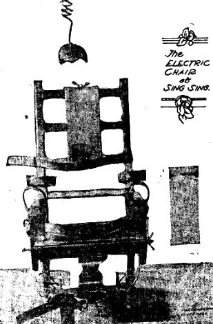 Death by Electric Chair - Newspaper and Current Periodical ...