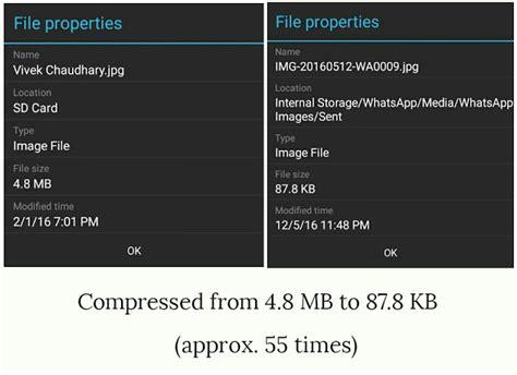 reduce image file size offline  whatsapp