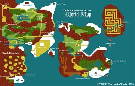 map   legend  zelda   adventures  link