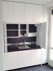 Mini cucine monoblocco a scomparsa progettate per piccoli for Mini cucina monoblocco