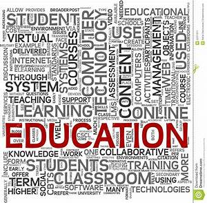 Education Concept In Tag Cloud Stock Image - Image: 22371971