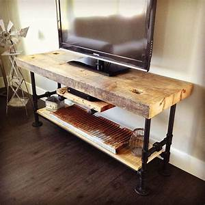 Best 25+ Industrial tv stand ideas on Pinterest Tv table