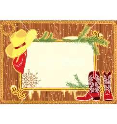 Cowboy Christmas Border