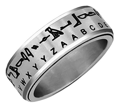 Hieroglyph Translator Ring Silver Size 12  Egyptian. Bridge Engagement Rings. Biblical Wedding Rings. Marriage Engagement Rings. Bat Rings. Classic Gold Engagement Rings. Two Diamond Wedding Rings. Creative Wedding Rings. Low Key Engagement Rings
