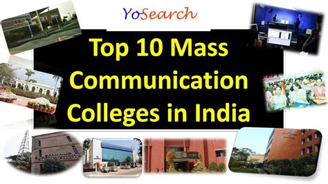 Journalism Colleges by Top 10 Mass Communication Colleges In India Top