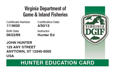 Free Boating License In Virginia by Virginia Online Hunter Safety Course Hunter Ed
