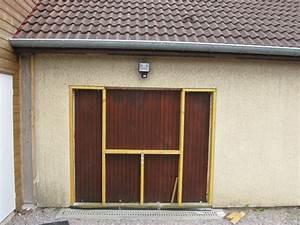porte de garage anthracite brico depot maison travaux With changer une porte de garage