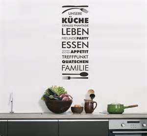 wandtattoo küche sprüche wandtattoo sprüche unsere küche freunde familie leben türaufkleber flur 6w ebay